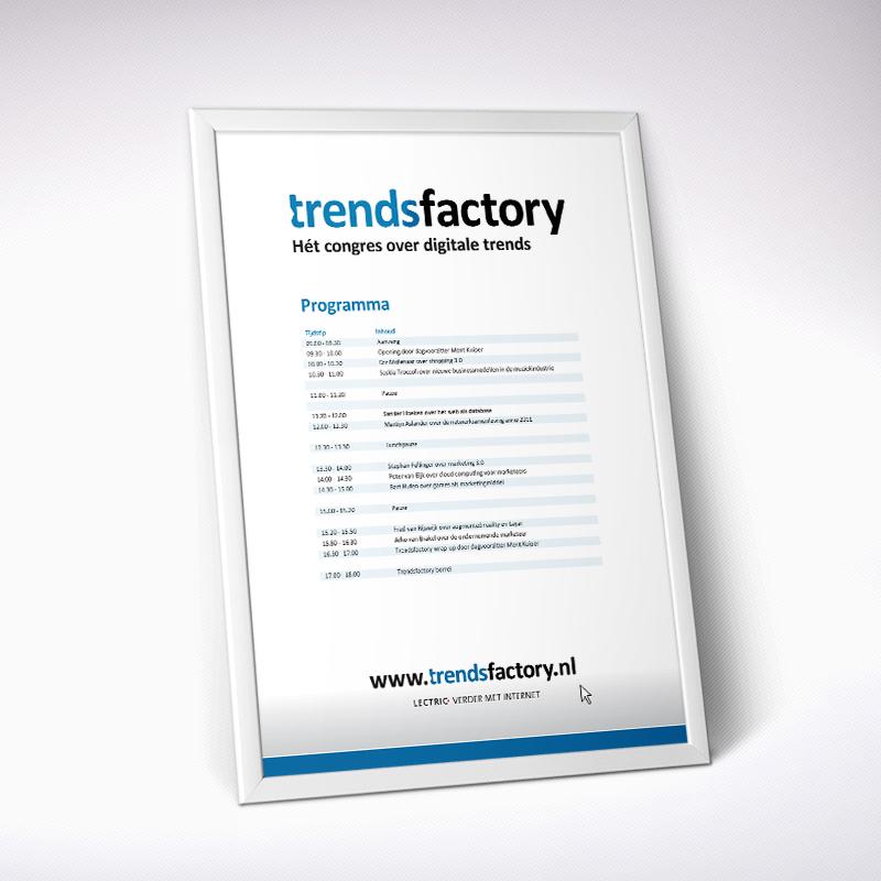 Trendsfactory - Programma