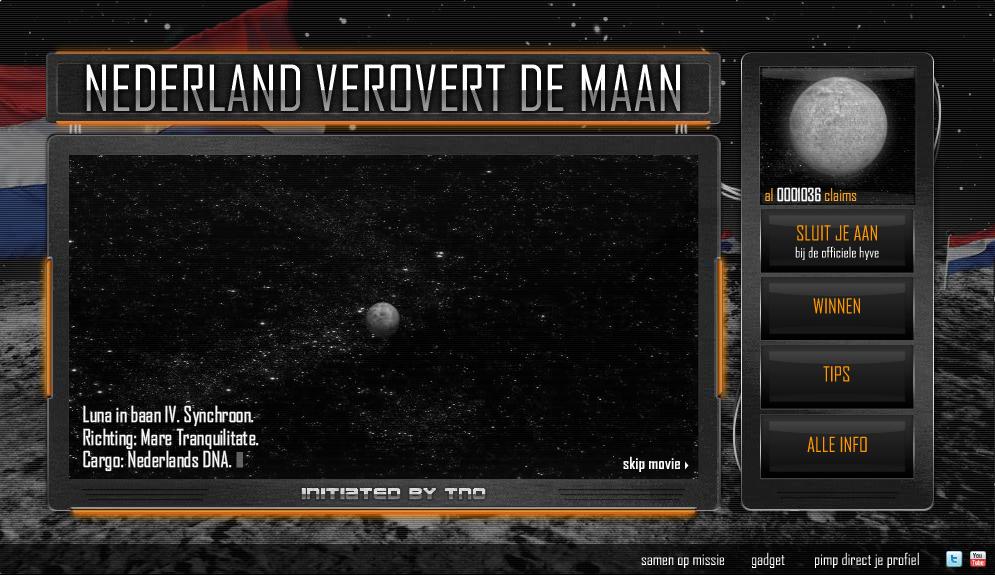 TNO - Nederland verovert de maan